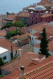 City Roofs at Sunny Summer Day Royalty Free Stock Photo