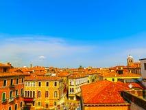 City Roofs in Venice, Italy Royalty Free Stock Photo