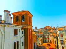 City Roofs in Venice, Italy Stock Photos