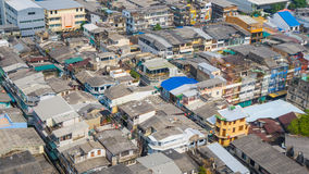 city rooftops Royalty Free Stock Image