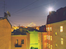 City rooftops Royalty Free Stock Photo