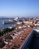 City rooftops, Venice, Italy. Royalty Free Stock Image