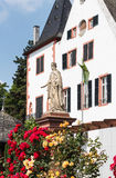 City of Roses Eltville am Rhein, the biggest town in the Rheingau, Germany Stock Images