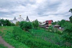 City of Rostov Veliky Stock Photo