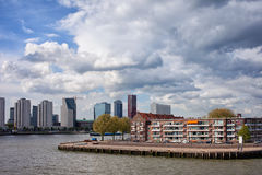 City of Rotterdam Cityscape Stock Images