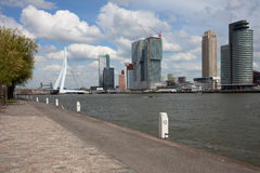 City of Rotterdam Downtown Royalty Free Stock Images