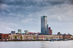 City of Rotterdam in Netherlands Stock Photo
