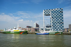 City of Rotterdam Stock Images