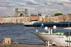 City of Rotterdam Urban Scenery Royalty Free Stock Photo