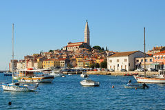 City of Rovinj Stock Photography