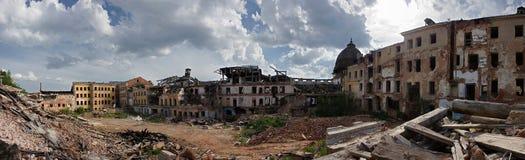 City ruins Stock Image