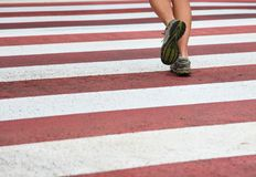 City Running royalty free stock images
