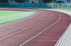 City Running track Stock Images