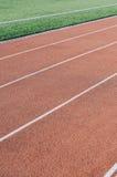 City Running track Royalty Free Stock Photos