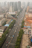 City's Air Pollution in Changsha Royalty Free Stock Image