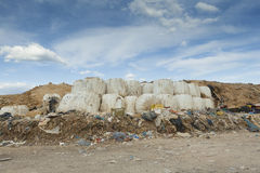 City's rubbish dump Royalty Free Stock Image