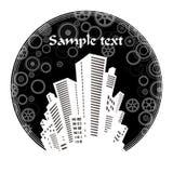 The city's skyline Royalty Free Stock Image