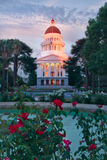 The City of Sacramento California. Sacramento is the capital city of California royalty free stock photography
