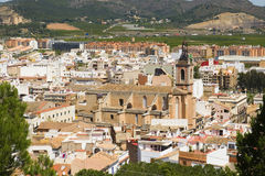 City ​​of Sagunto, Valencia, Spain Stock Image