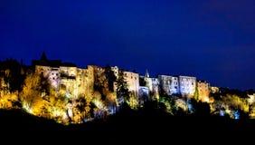 Saint Flour, Cantal, Auvergne-Rhône-Alpes, France. The city of Saint Flour is divided into a historic upper town and a new suburb Stock Photos