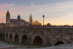 City of Salamanca, Spain Royalty Free Stock Photography