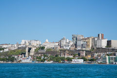 City of Salvador de Bahia in Brazil. Images from the seaside for Stock Images
