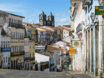 City of Salvador de Bahia, Pelourinho Stock Photo