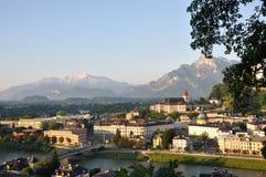 City of Salzburg. Royalty Free Stock Photography