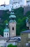 City Of The Salzburg,Austria Royalty Free Stock Photo