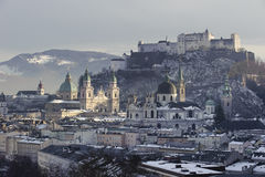 City salzburg in Austria Stock Image