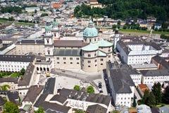 City of Salzburg, Austria. View of city of Salzburg in Austria Royalty Free Stock Photography