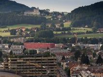 The city of Salzburg Stock Image