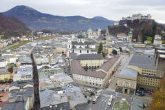 City Salzburg in Austria Royalty Free Stock Image