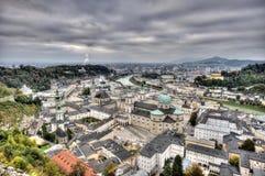 City of Salzburg Stock Image