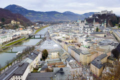 City Salzburg stock photos