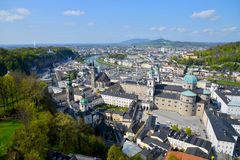 City of Salzburg Royalty Free Stock Images