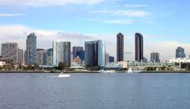 City of San Diego California. Royalty Free Stock Image