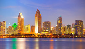 City of San Diego California Royalty Free Stock Photo