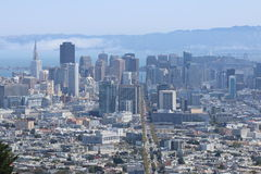 The City of San Francisco. This is the big city of San Francisco, CA Royalty Free Stock Photos