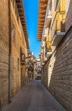City of San Sebastian in Spain Royalty Free Stock Photo