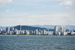 City of Santos in Sao Paulo Stock Photography
