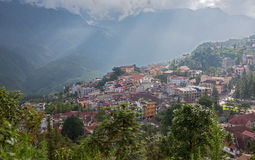 City of Sapa Stock Photo