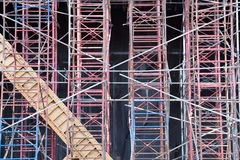 City Scaffolding Stock Photo