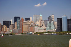 City Scape. New York City Skyline Stock Images