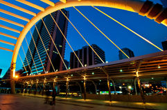 City Scape. Of the Sathorn junction Bangkok, Thailand Royalty Free Stock Image