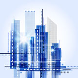 City scape Royalty Free Stock Photo