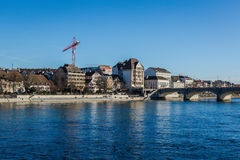 City Scape Basel Royalty Free Stock Photos