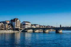 City Scape Basel Stock Images