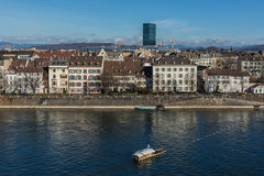 City Scape Basel Stock Photography
