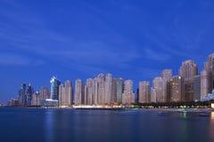 City Scape, Dubai. City Scape, Jumeirah Beach Residence, Dubai Royalty Free Stock Photo